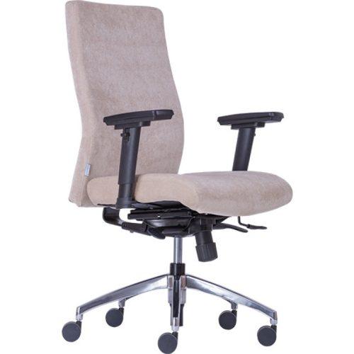 BOSTON Extra forgószék állítható ülésmélységgel és karfával, BA, BN, FO, L, LL választható kárpitozással
