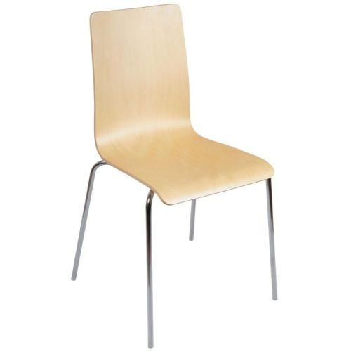 Elena M Krómozott fémvázas éttermi szék
