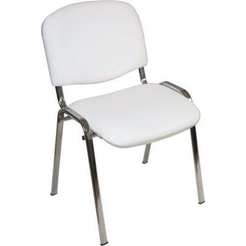 Iso Medica fémvázas, fehér textilbőrös orvosi szék