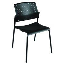 Lucca fémvázas szék műanyag ülő- és hátlappal