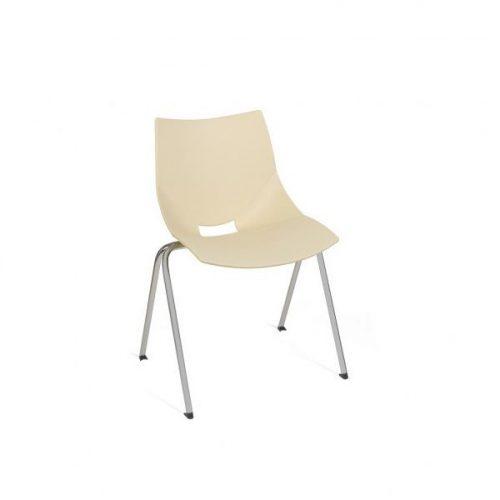 Shell krómozott fémvázas szék műanyag palásttal