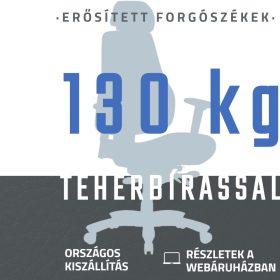 130 kg teherbírású forgószékek