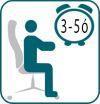 A Diamond II vezetői fotelt napi 3-5 órás munkavégzéshez ajánljuk