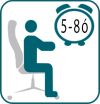 A forgószéket napi 5-8 órai használatra ajánljuk