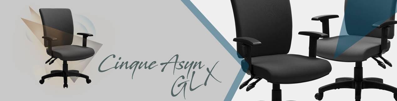 Cinque Asyn GLX ajánlott forgószék