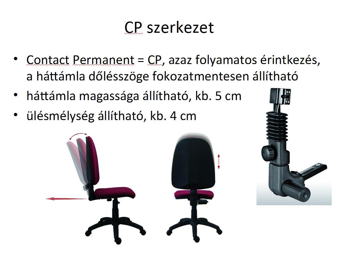 CP azaz permanento contacto könyökszerkezet