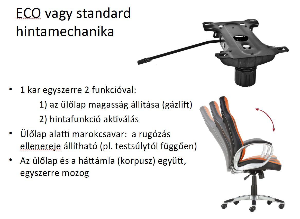 ECO vagy standard hintamechanika képes bemutatása