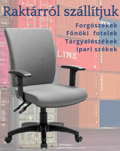 Forgószékek, irodaszékek, tárgyalószékek, ipariszékek raktárról