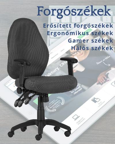 Forgószékek, ergonómikus székek, irodaszékek választéka