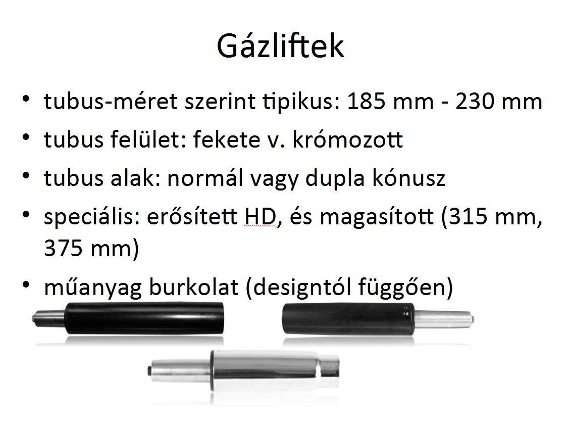 Gázliftek, gázteleszkópok bemutatása